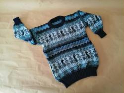 KIDS SWEATER WITH LLAMA DESIGN- 6PACK